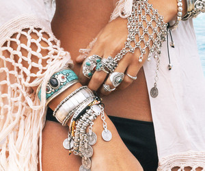 bohemian, gypsy, and boho image