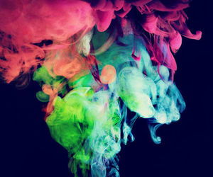 colors, pink, and blue image
