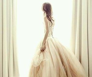 dress, white, and forever image