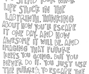 quote, looking for alaska, and book image