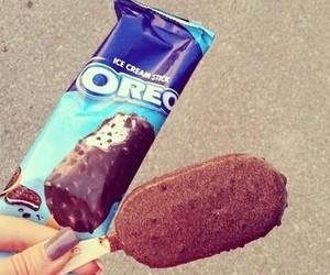 oreo, ice cream, and food image