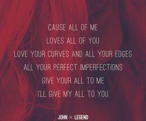 Lyrics, john legend, and song image