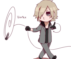chibi, OMG, and vortex image