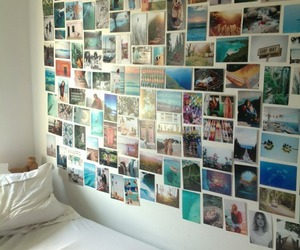 bed room, hispter, and cool image