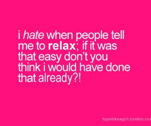 hate, relax, and text image