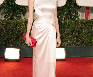 Angelina Jolie, dress, and red carpet image