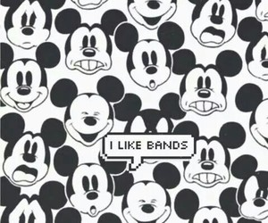 bands, mickey, and disney image