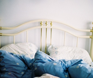 bed and blue image