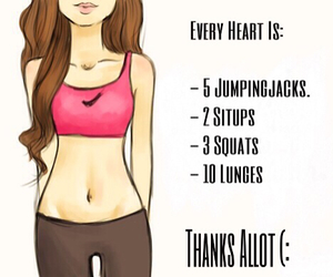 abs, legs, and workout image