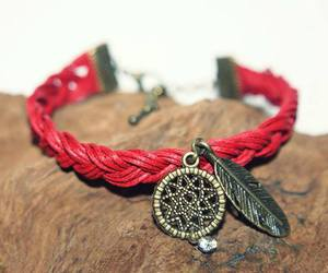bracelet, handmade, and indian image