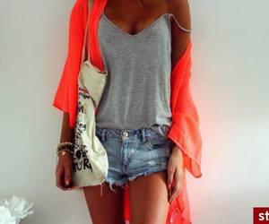 neon gray shorts bag image