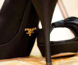 fashion, high heels, and Prada image