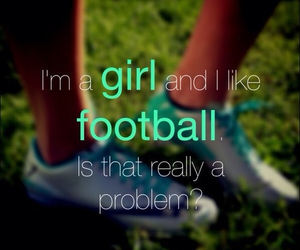 football, girl, and like image
