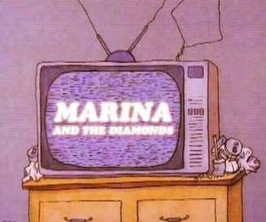 marina and the diamonds, grunge, and tv image