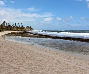 beach, colombia, and mar image