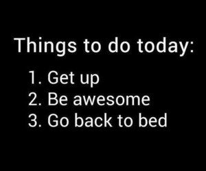 awesome, quotes, and bed image