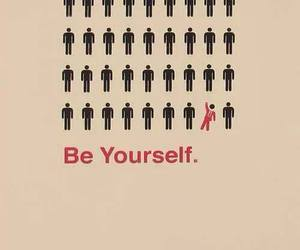 be yourself, honest, and funny image