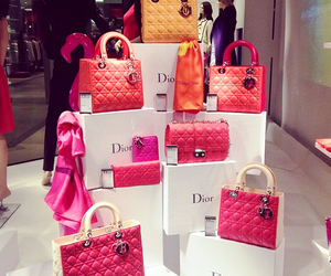bag, dior, and gold image