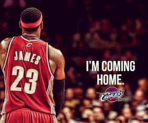 Basketball, LeBron James, and NBA image
