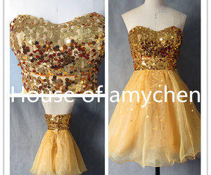 party dress, party dresses, and wedding party dress image