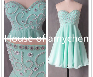 evening dress, prom dresses, and cocktail dresses image