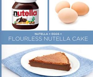 cake, diy, and eggs image