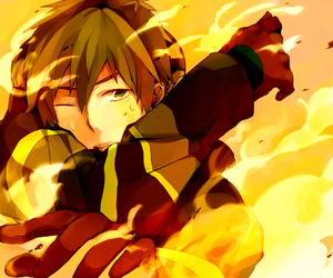 firefighter, makoto, and free! image