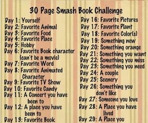 challenge, s, and smashbook image