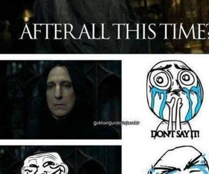 snape, always, and harry potter image