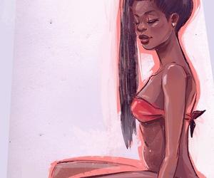 art, cartoon, and illustration image