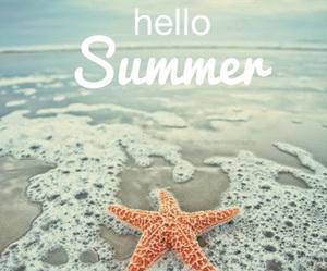 hello, sea, and summer image