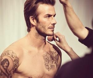 David Beckham, tattoo, and sexy image