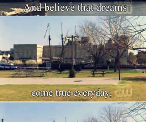 quote, dreams, and one tree hill image