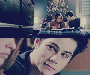love, stalia, and teen wolf image