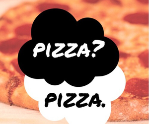 pizza, food, and tfios image