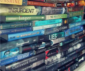 book, divergent, and insurgent image
