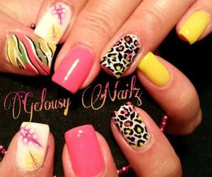 moda, like, and nail art image