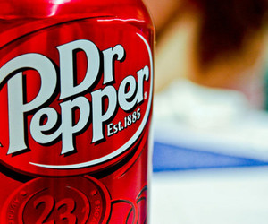 dr pepper, drink, and food image