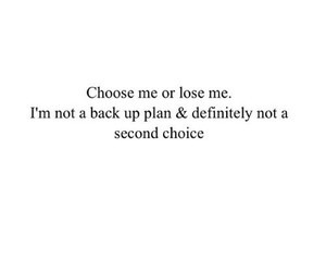 quotes, choose, and second choice image