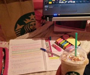 coffee, exam, and school image