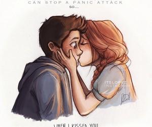 teen wolf, stydia, and kiss image
