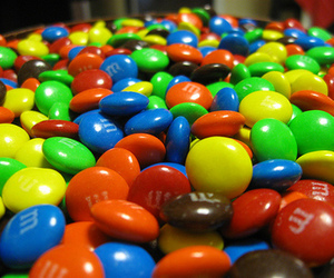 chocolate, sweet, and m&m's image