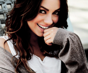 Mila Kunis, smile, and pretty image