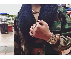 army, girly, and fashion image