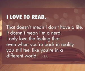 books, nerd, and reading image
