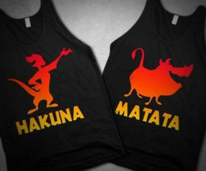 fashion, hakuna matata, and disney image