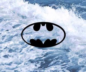 batman, Logo, and water image