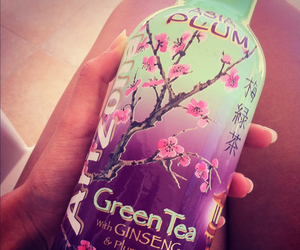 arizona, green tea, and drink image