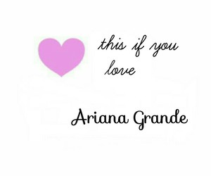 heart, ariana grande, and love image