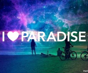 paradise and love image